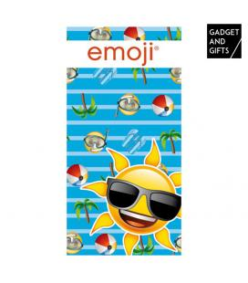 Toalla de Playa Sun Emoticonos Gadget and Gifts - Imagen 1