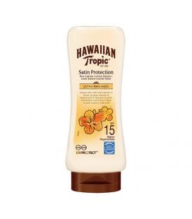 Loción Solar Satin Protection Ultra Radiance Hawaiian Tropic - Imagen 1