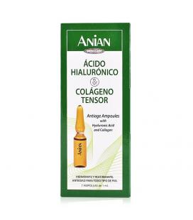 Ampollas Efecto Lifting Hyaluronic Acid Anian (7 uds) - Imagen 1