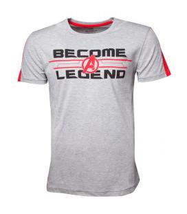 Camiseta Become A Legend Vengadores Marvel - Imagen 1