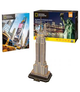 Puzzle 3D Empire State Building National Geographic - Imagen 1