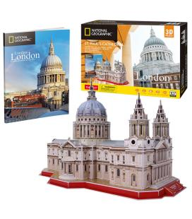 Puzzle 3D St. Pauls Cathedral National Geographic - Imagen 1