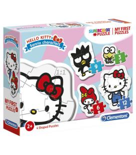 Puzzle My First Puzzle Hello Kitty 3-6-9-12pzs - Imagen 1