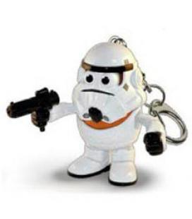Llavero Mr. Potato Poptaters Star Wars Stormtrooper - Imagen 1