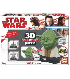 Puzzle 3D Yoda Star Wars Color Edition
