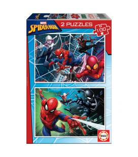 Puzzle Spiderman Marvel 2x100pz