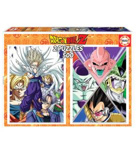 Puzzle Dragon Ball Z 2x500pz