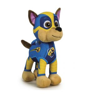 Peluche Chase Patrulla Canina Paw Patrol Mighty soft 27cm - Imagen 1
