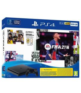 Consola Sony PS4 Slim 500GB + Juego Fifa 21