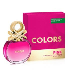 Perfume Mujer Colors Pink Benetton EDT (50 ml) - Imagen 1