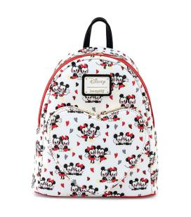 Mochila Mickey and Minnie Love Disney Loungefly 27cm - Imagen 1