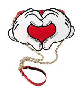 Bolso bandolera Mickey and Minnie Love Disney Loungefly - Imagen 1