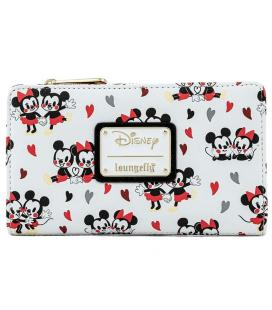 Cartera Mickey and Minnie Love Disney Loungefly - Imagen 1