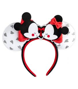 Diadema orejas Mickey and Minnie Love Disney Loungefly - Imagen 1