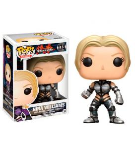Figura POP Tekken Nina Williams silver Exclusive - Imagen 1