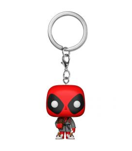 Llavero Pocket POP Marvel Deadpool Bath Robe Exclusive - Imagen 1