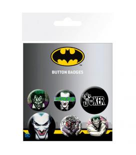 Set chapas Joker DC Comics