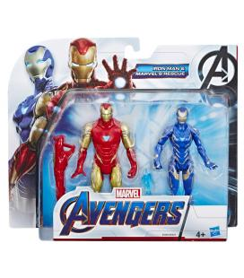 Set figuras Iron Man y Marvels Rescue Vengadores Avengers Marvel - Imagen 1