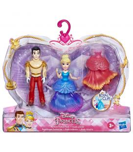 Set 2 figuras Royal Clips Cenicienta Princesas Disney 9cm - Imagen 1
