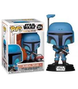 Figura POP Star Wars Mandalorian Death Watch Mandalorian Two Stripes Exclusive - Imagen 1