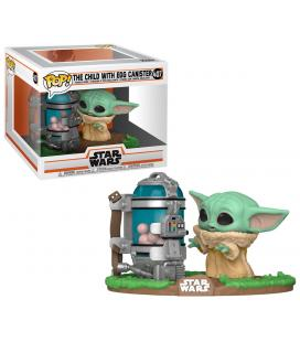 Figura POP Star Wars The Mandalorian Child with Canister - Imagen 1