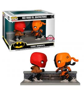 Figura POP DC Comics Red Hood vs Deathstroke Exclusive - Imagen 1