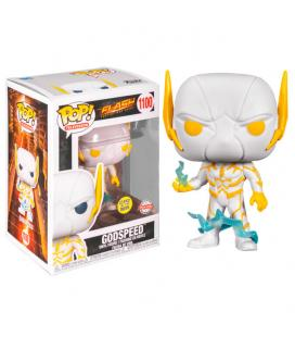 Figura POP DC Comics The Flash Godspeed Glow in the Dark Exclusive - Imagen 1