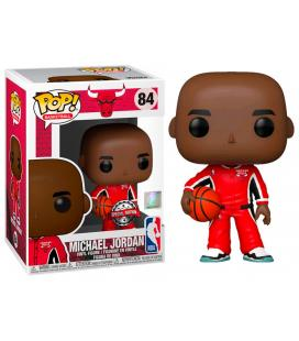 Figura POP NBA Chicago Bulls Michael Jordan Red Warm Ups Exclusive - Imagen 1
