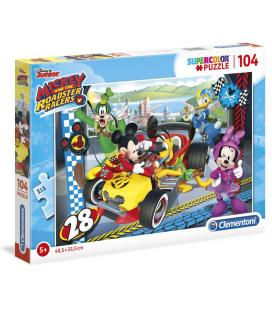 Puzzle Mickey and the Roadster Racers Disney 104pzs - Imagen 1