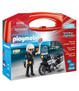 Maletin Policia Playmobil City Action - Imagen 1