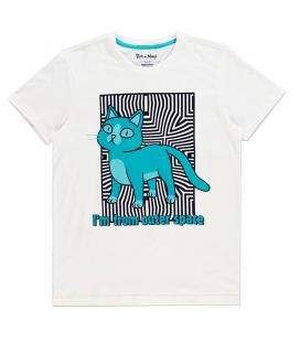 Camiseta Outer Space Cat Rick and Morty - Imagen 1