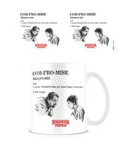 Taza Compromise Licencia Stranger Things - Imagen 1