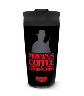 Taza viaje Coffe and Contemplation Stranger Things - Imagen 1