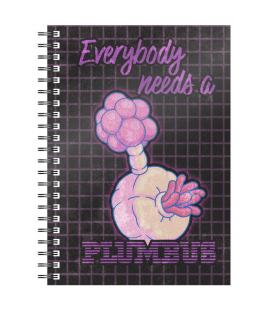 Cuaderno A5 Plumbus Rick and Morty - Imagen 1