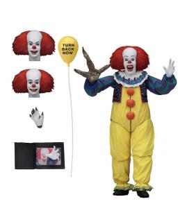 Figura Ultimate Pennywise 1990 Scale Action IT 18cm - Imagen 1