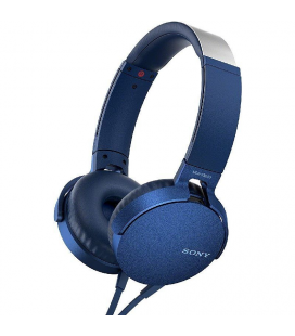 Auriculares Sony MDR-XB550 Extra Bass/ Jack 3.5/ Azules - Imagen 1