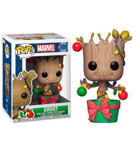 Figura POP Marvel Holiday Groot with Lights & Ornaments - Imagen 1