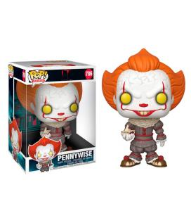 Figura POP IT Chapter 2 Pennywise with Boat 25cm - Imagen 1