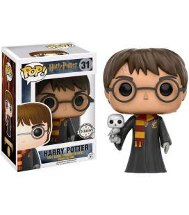 Figura POP Harry Potter Harry with Hedwig Exclusive - Imagen 1