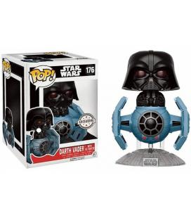 Figura POP Star Wars Darth Vader Tie Fighter 15cm Exclusive - Imagen 1