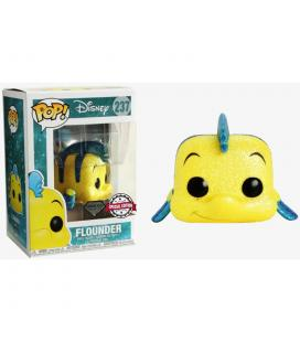 Figura POP Disney The Little Mermaid Flounder Glitter Exclusive - Imagen 1