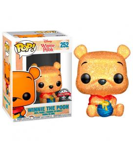 Figura POP Disney Winnie the Pooh Seated Pooh Glitter Exclusive - Imagen 1