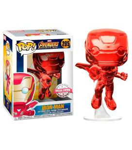 Figura POP Marvel Avengers Infinity War Iron Man Red Exclusive - Imagen 1