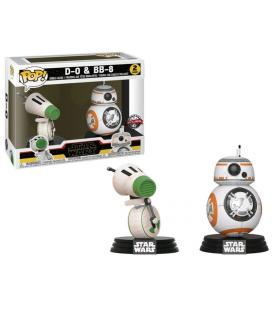 Set 2 figuras POP Star Wars Rise of Skywalker D-O and BB-8 Exclusive - Imagen 1
