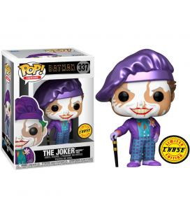 Figura POP DC Comics Batman 1989 Joker with Hat Chase - Imagen 1