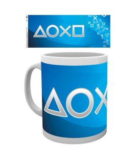 Taza Playstation silver buttons - Imagen 1