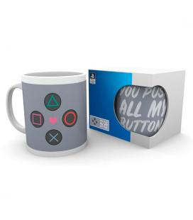 Taza Push My Buttons Playstation - Imagen 1