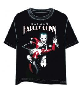 Camiseta Harley Quinn and Joker DC Comics adulto