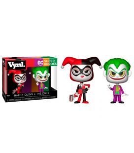 Figuras Vynl DC Comics Harley Quinn & The Joker