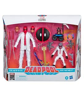 Set 2 figuras Deadpool and Hit Monkey Deadpool Marvel Legends 15cm - Imagen 1